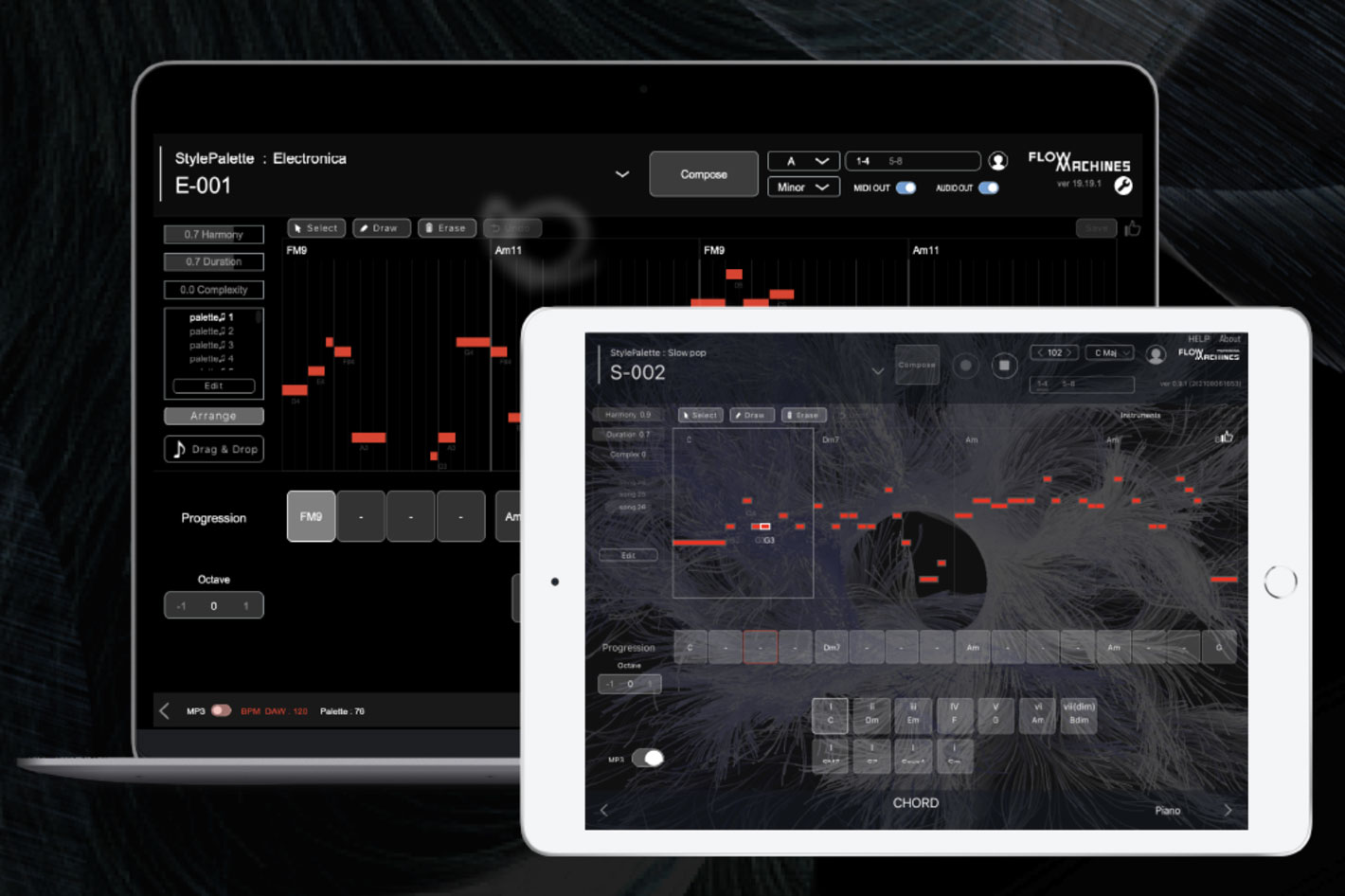 Sony: AI-assisted music production with Flow Machines Mobile