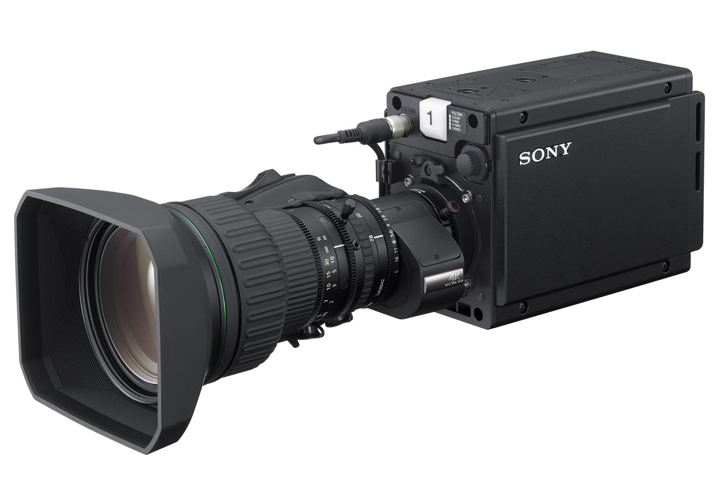Sony HDC-P31: ideal for studio and sports production