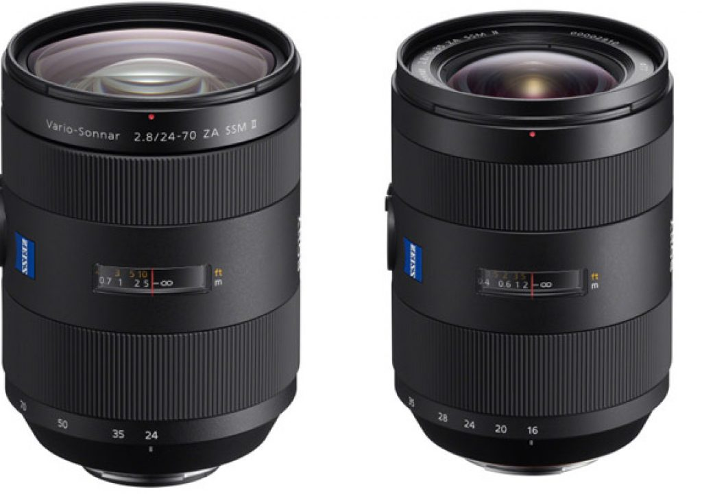 Refined Zeiss Lenses for Sony α A-mount 1