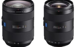 Refined Zeiss Lenses for Sony α A-mount