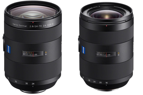 Refined Zeiss Lenses for Sony α A-mount 6