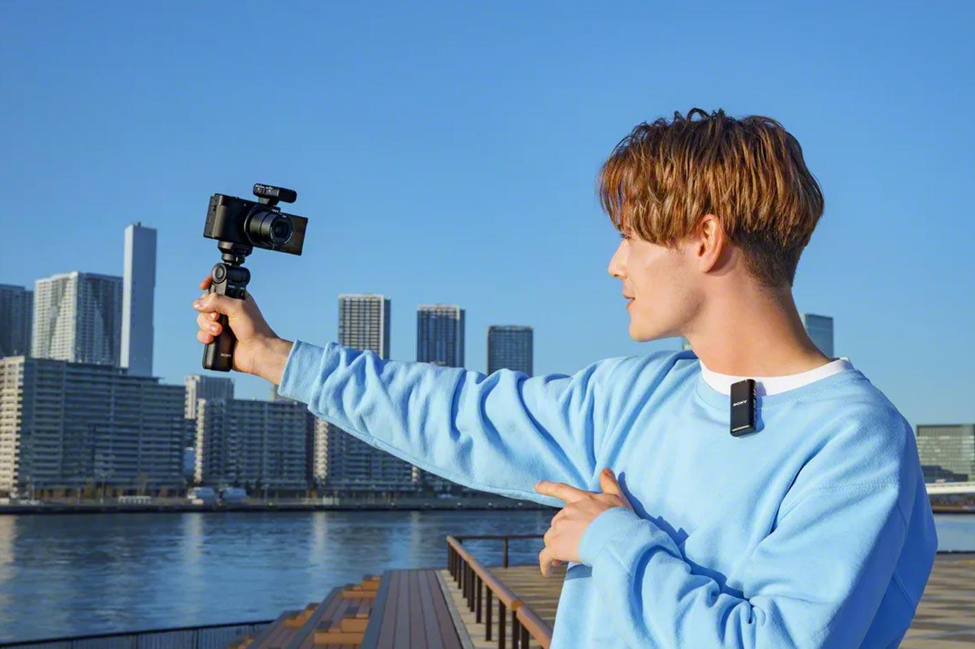 Sony announces ECM-W2BT and ECM-LV1 microphones for video creators