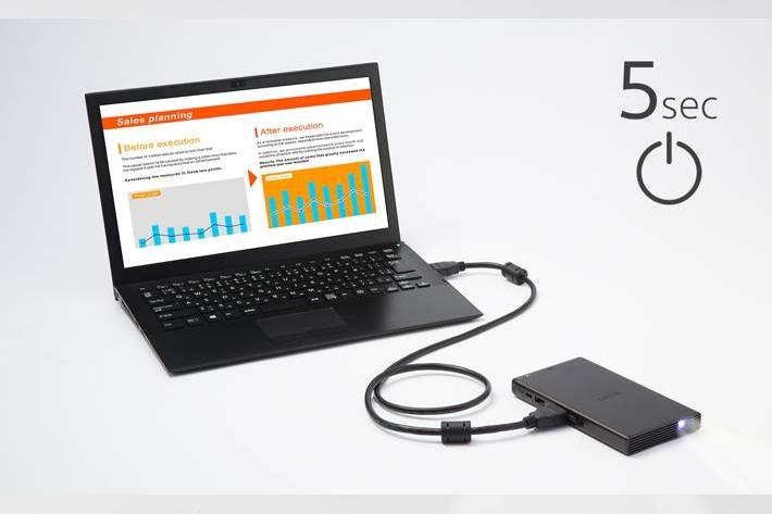 Sony MP-CD1: a ultra-portable projector