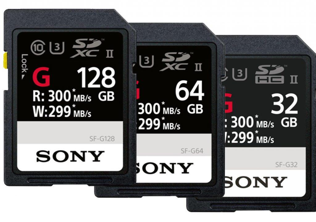 Sony introduces the world's fastest SD card