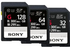 Sony presents the world's fastest SD card