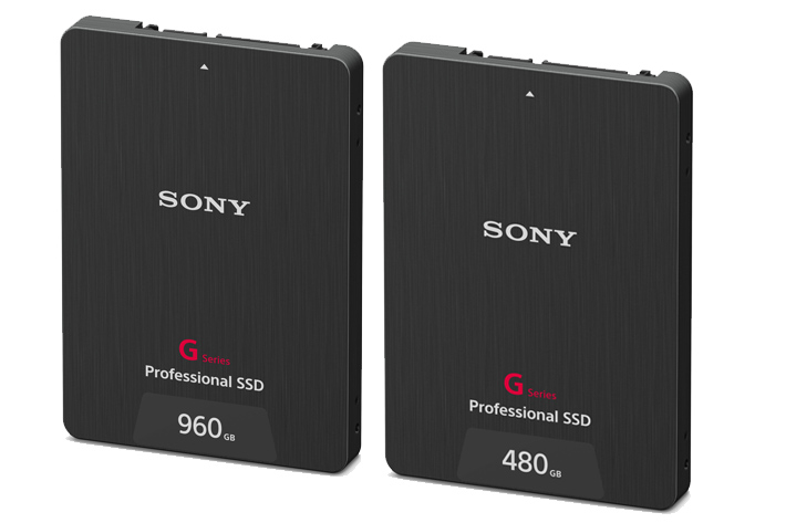 Sony's new G Series SSDs