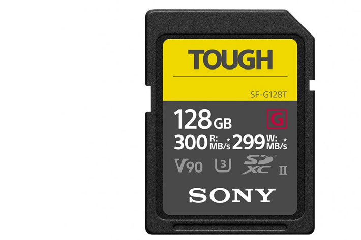 Sony TOUGH, the world's toughest and fastest SD card