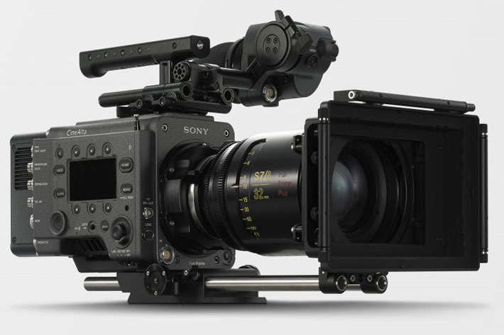 Sony shows VENICE Extension System at Cine Gear Expo