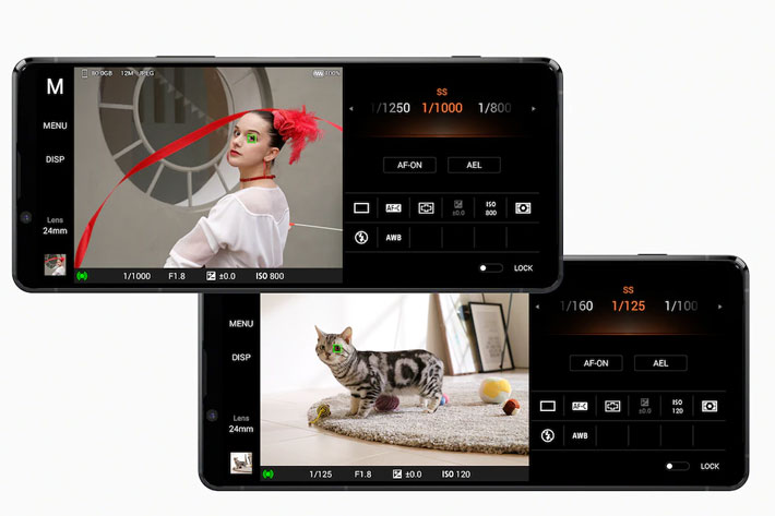 Sony Xperia 1 II: powered by CineAlta Alpha 9 mirrorless technologies