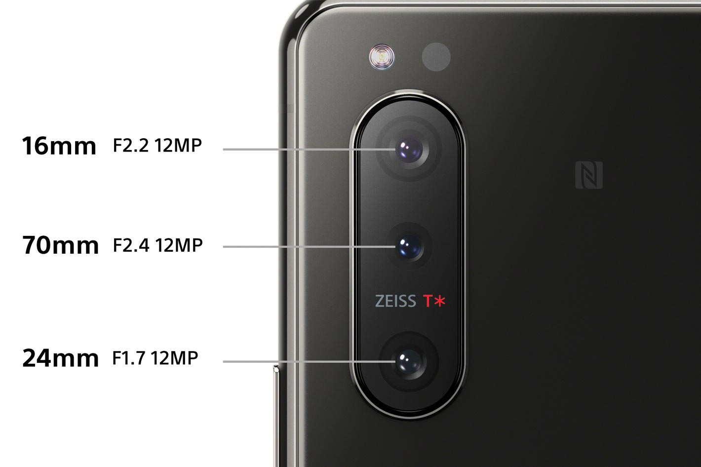 Xperia 5 II: world's first 4K HDR 120fps slow-motion movie recording