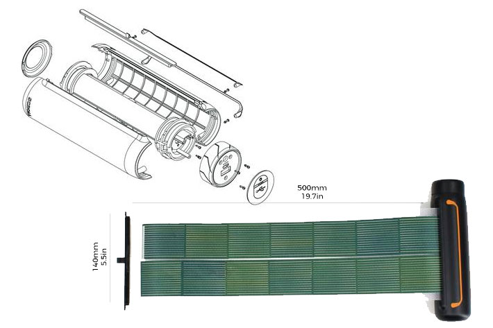 Cinematoraphy Soul Solar Scroll Portable Energy For