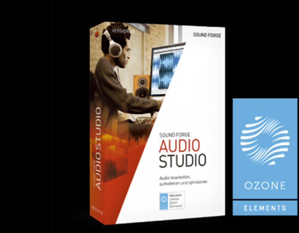 "SOUND FORGE Audio Studio 12 wants to ""define the edge"""