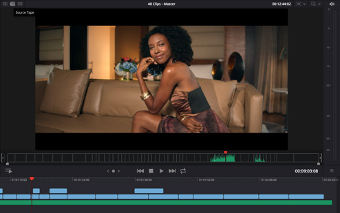 DaVinci Resolve 16 adds LUFS audio loudness standards + linear features. 3