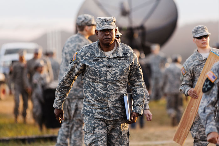 Forest Whitaker as Col. Weber in ARRIVAL by Paramount Pictures