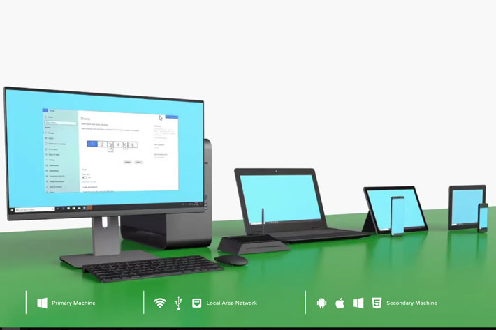 Spacedesk: expand your desktop to your smartphone in Windows 10