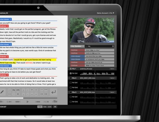 SpeedScriber: automated transcripts in minutes 2