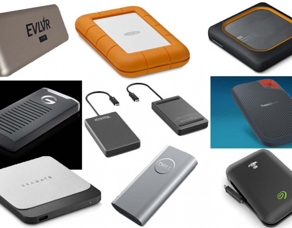 The 2018 guide for SSD and HDD portable drives