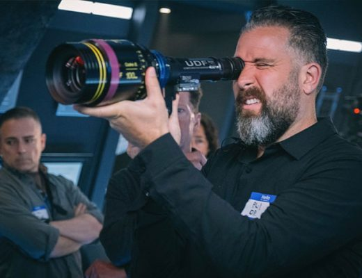Star Trek: Picard series filmed in anamorphic with the Cooke Look