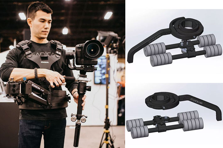 Steadicam Steadimate-S camera stabilizer receives NAB Show Award by Jose Antunes