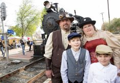 Thoughts on a Steampunk Train Shoot