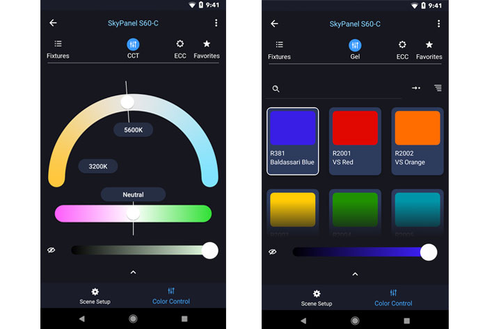 ARRI Stellar: control your lights from your smartphone