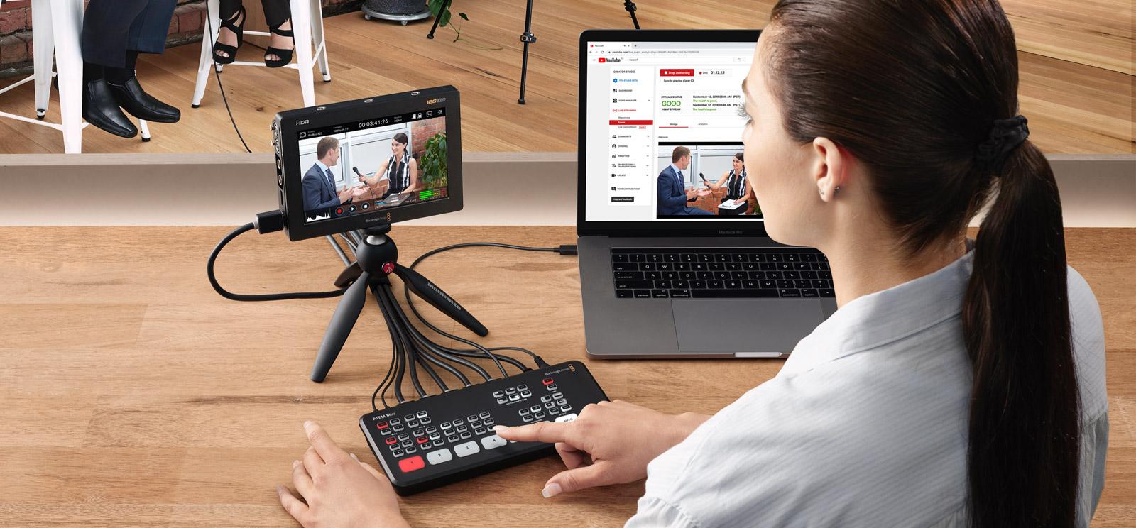 "IBC2019: Blackmagic announces ATEM Mini video mixer (""switcher"") 22"