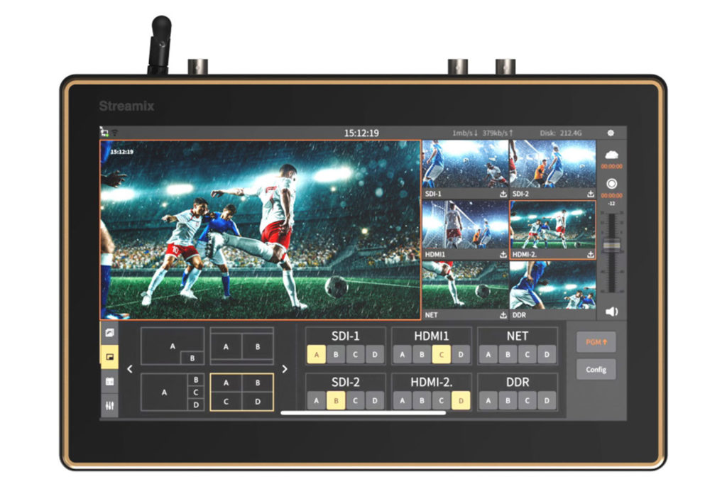 Hollyland's Streamix M1: portable six-channel streaming