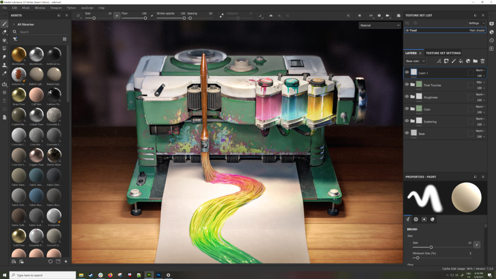 Adobe gets serious about 3D Design 15