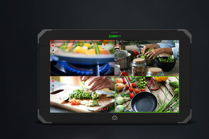 Atomos upgraded the Sumo 19 multi-camera switching