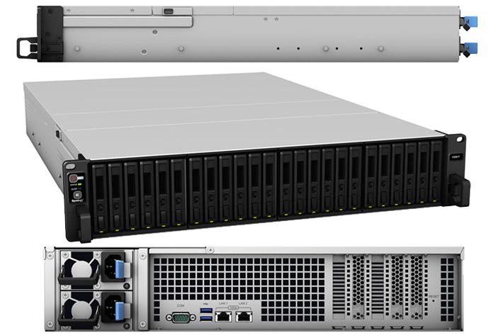 All flash for the new Synology FlashStation FS3017