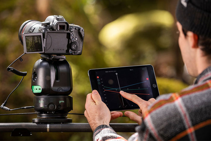 Syrp Genie 2 App gets stop motion