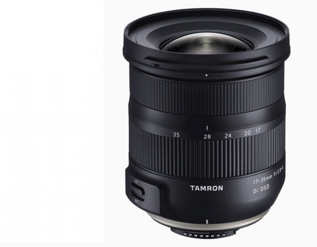 Tamron 17-35 F/2.8-4 Di OSD: the world's lightest and smallest ultra wide-angle zoom
