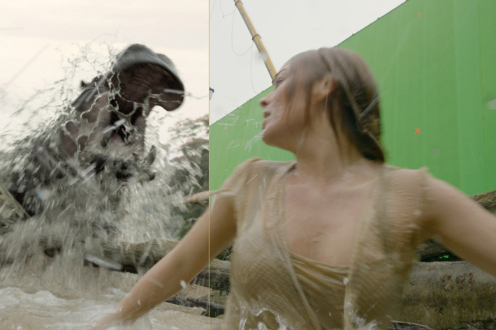 Modern Tarzan has CG hippos and crocodiles