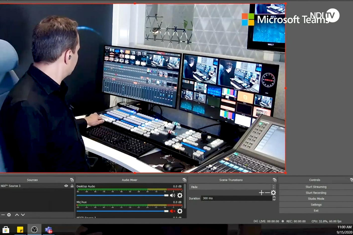 With NDI integration, Microsoft Teams is ready for video production