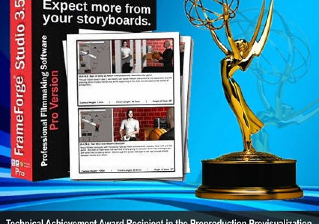 Innoventive Software wins Emmy for Technical Achievement for FrameForge Previz Studio Pre-visualization Software 1