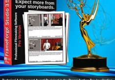 Innoventive Software wins Emmy for Technical Achievement for FrameForge Previz Studio Pre-visualization Software