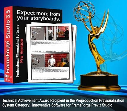 Innoventive Software wins Emmy for Technical Achievement for FrameForge Previz Studio Pre-visualization Software 3