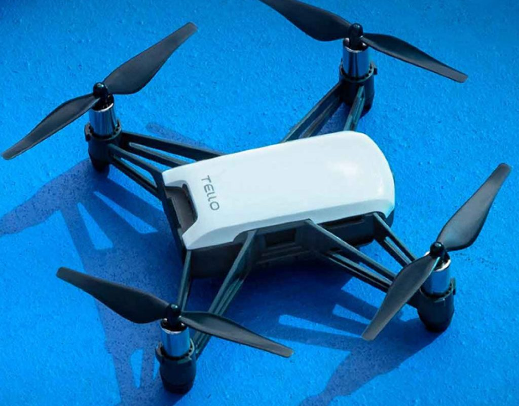 "Tello: a ""powered by"" DJI drone for $99"