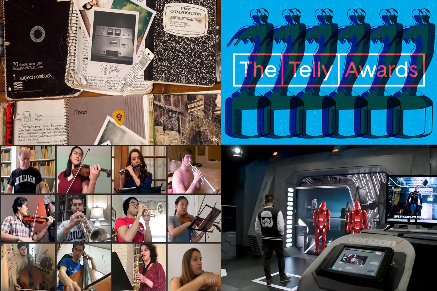 Telly Awards: from Jeff Buckley's music video to Star Wars