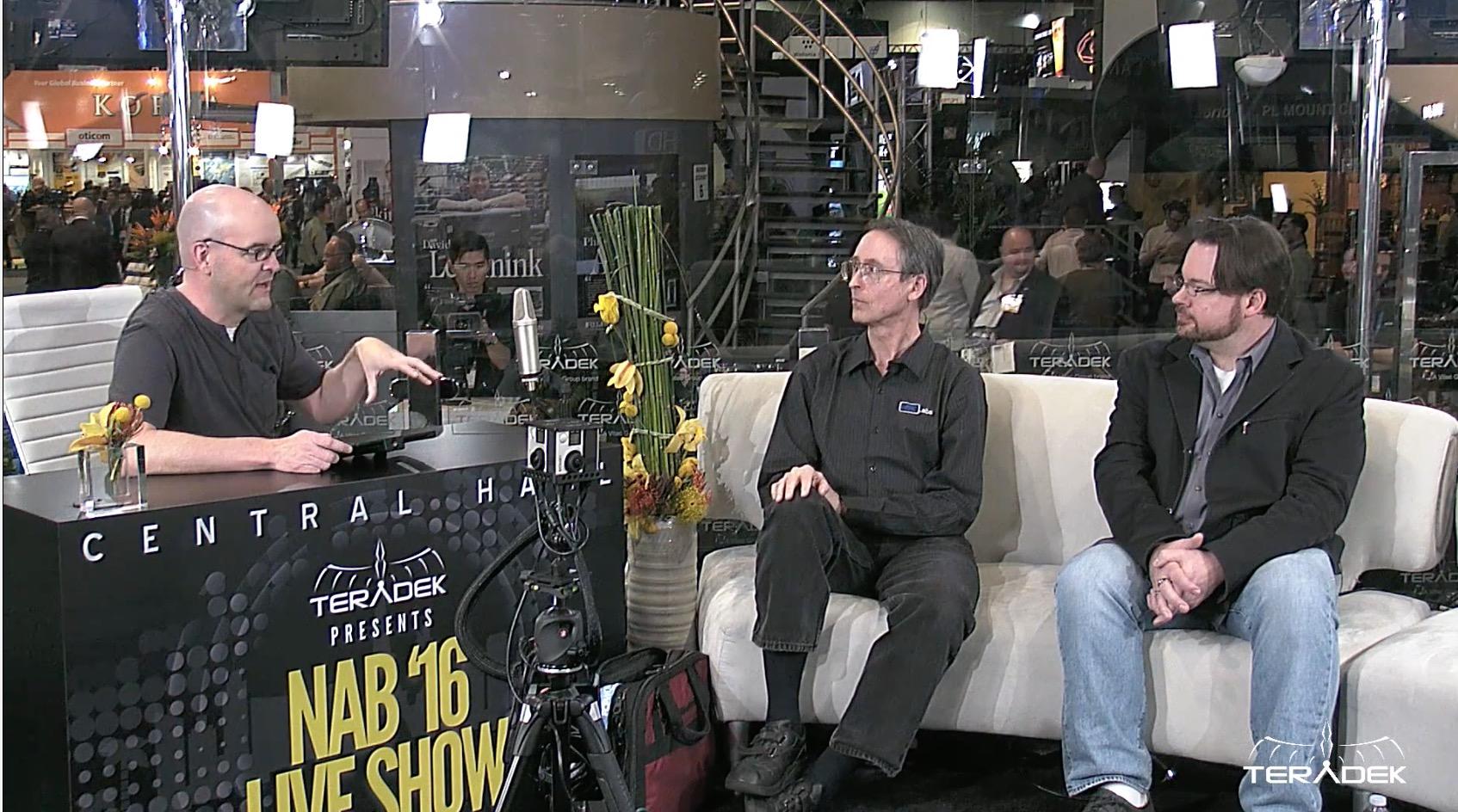 NAB 2016 Teradek Live Show PVC Panel - Where We Are Now 7