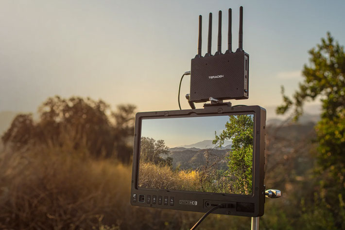 Teradek Bolt 4K: 8x the performance of current wireless video systems 4