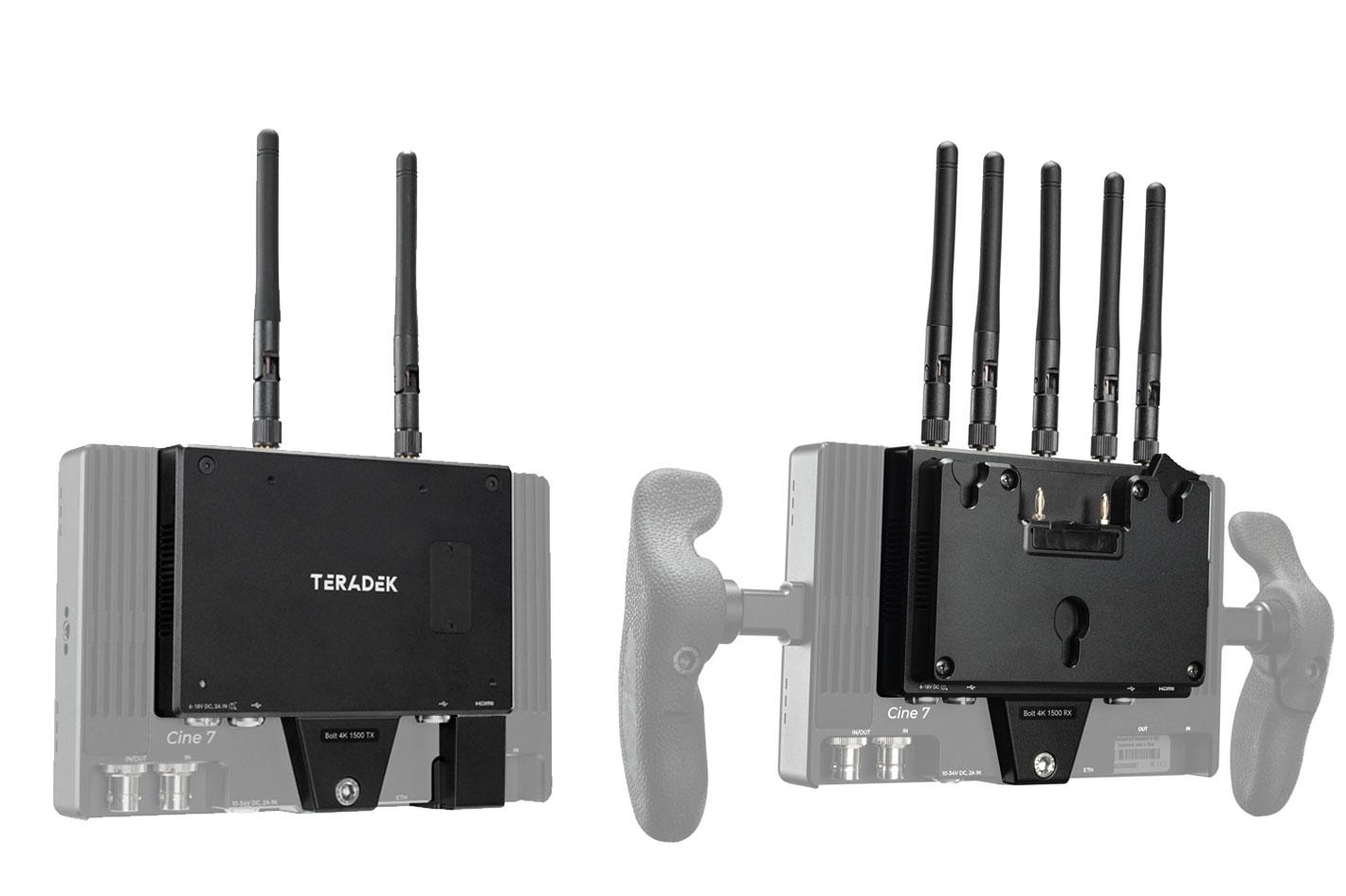 Teradek's new Bolt 4K monitor modules 1500 TX/RX