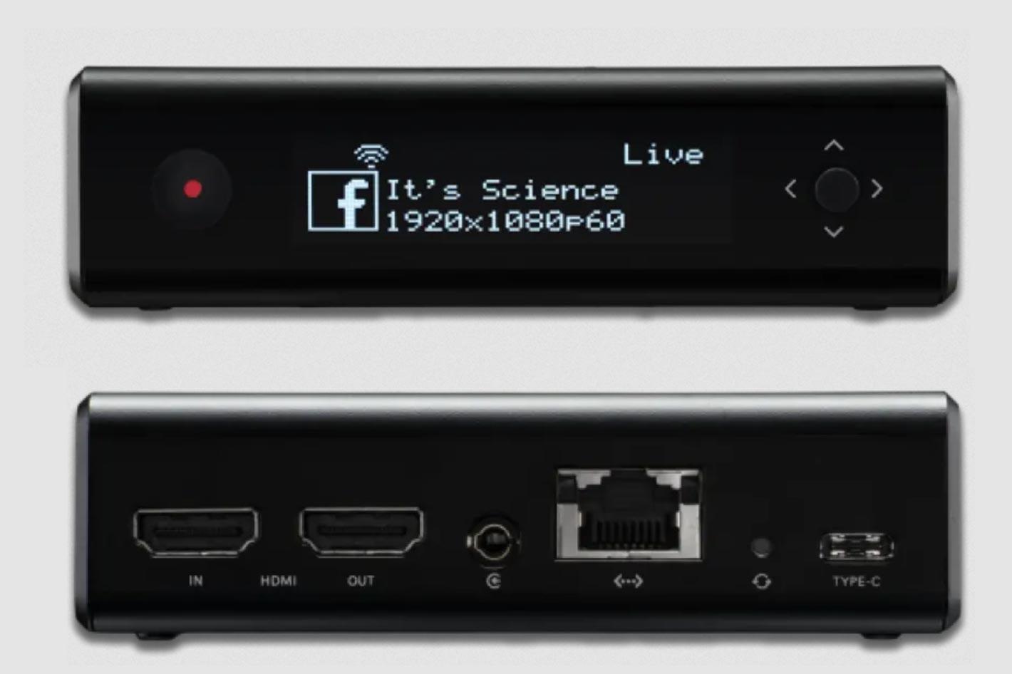 Teradek Vidiu X: an all-in-one hardware encoder