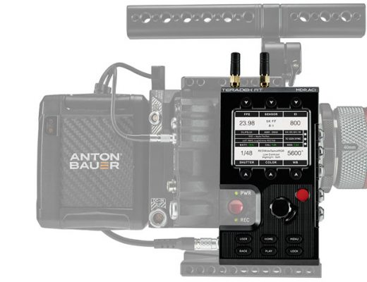 Teradek RT ACI, a new and intuitive interface for RED DSMC2 cameras