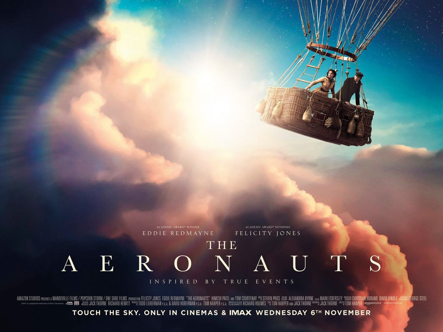The Aeronauts editor Mark Eckersley editor of black mirror, the crown, peaky blinders and more