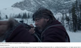 re_select_5.00002709 Tom Hardy hunts for the person he had left for dead, in THE REVENANT. Photo Credit: Courtesy Twentieth Century Fox. Copyright © 2015 Twentieth Century Fox Film Corporation. All rights reserved. THE REVENANT Motion Picture Copyright © 2015 Regency Entertainment (USA), Inc. and Monarchy Enterprises S.a.r.l. All rights reserved. Not for sale or duplication.