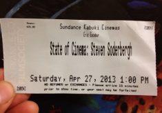 Steven Soderbergh's State of Cinema 2013