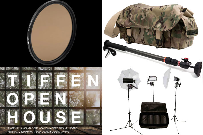 Tiffen Company hosting Open House and wharehouse sale