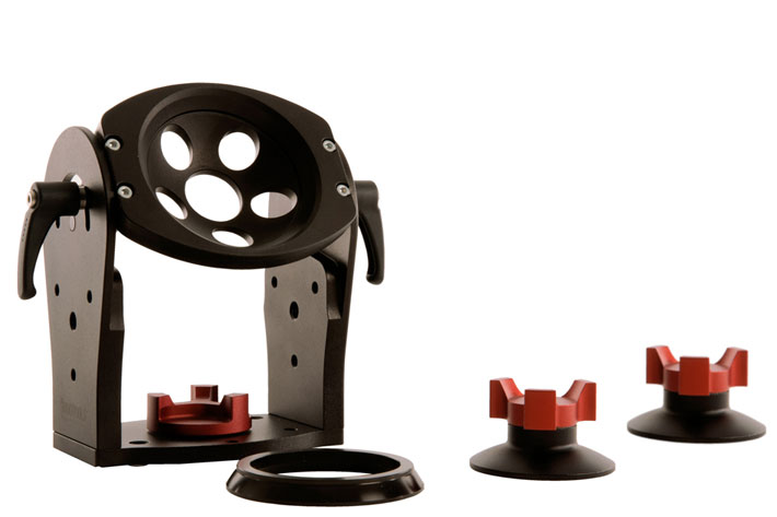Tilt Hi Hat: universal half ball head adapter