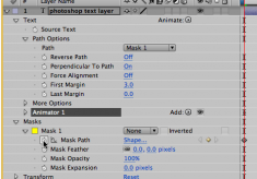 After Effects Tips – Installment 1